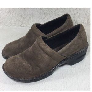 Born Concept BOC Women Size 10 Clogs Casual Brown